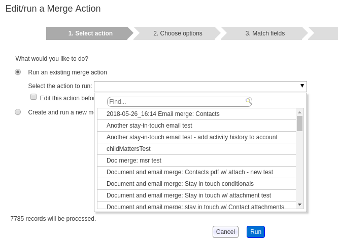 Document and email generation - Apsona for Salesforce