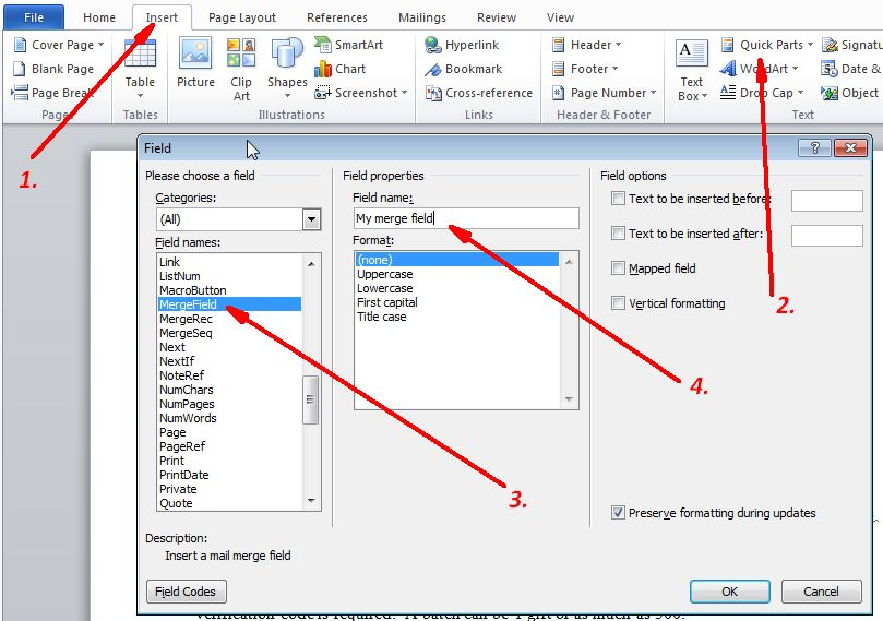 Free Worksheets ms excel 2007 worksheet : Generating Word and PDF documents
