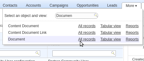 Managing Salesforce Documents